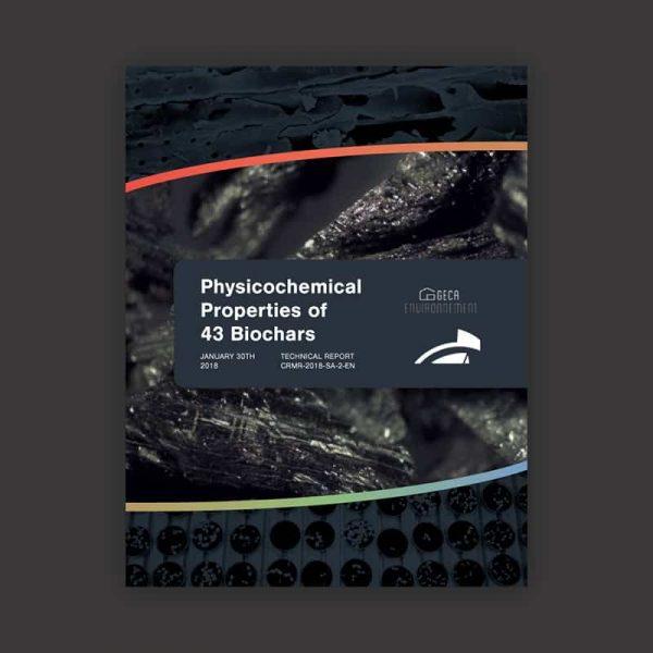 Physicochemical properties of 43 biochar report