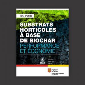substrats horticoles à base de biochar