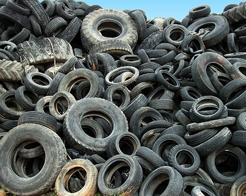 tyres that can be feedstock for pyrolysis