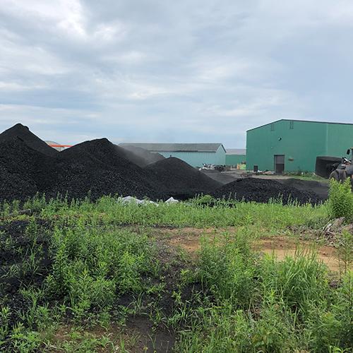 Full update of a biochar plant